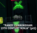 Randy Cunningham: 9th Grade Ninja title cards