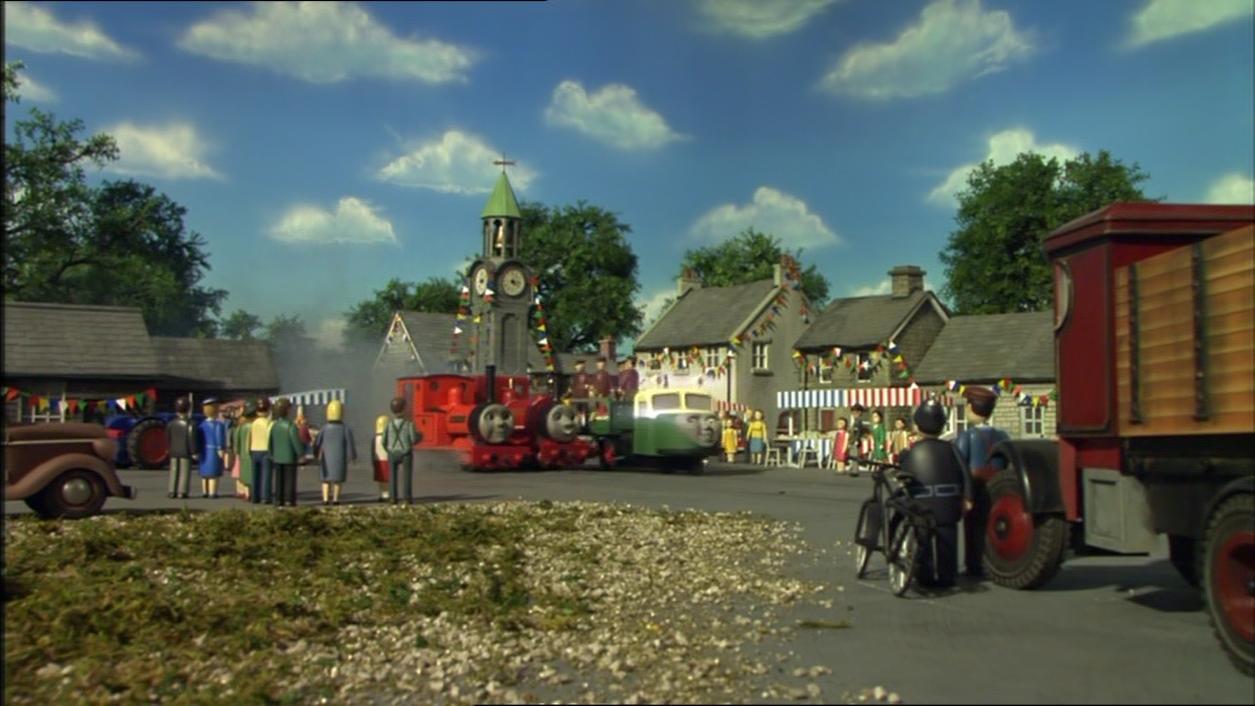 第11シーズンのスカーロイ鉄道の乗客
