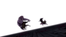 Torafuzar and Tempester pushed by Natsu and Gajeel.png