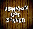 Plankton Got Served