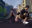 Tony Hawk's Downhill Jam levels
