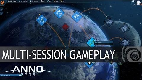 Anno 2205 - Feature Special - Multi-Session Gameplay DE
