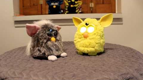 New 2012 Furby vs Reacts Old fuby