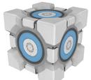 Cubo de Contención Contrapesado de Aperture Science
