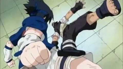 Sasuke Uchiha vs Yoroi