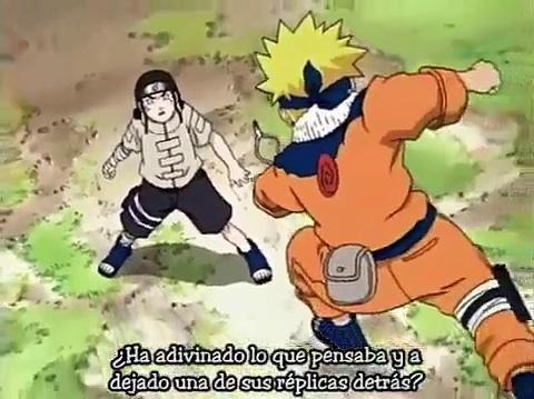 Naruto Uzumaki vs Neji Hyūga-0