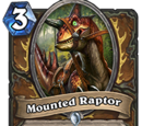 Mounted Raptor
