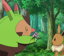 XY095: Love Strikes! Eevee, Yikes!