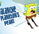 Avalanche at Plankton's Peak