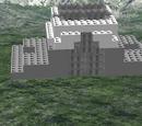 Ice mountain world