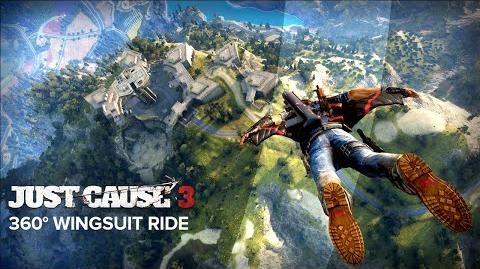 Just Cause 3 360° Wingsuit Ride