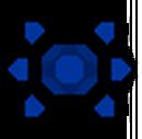 FourthGen-Armor Sphere Icon Dark Blue.png