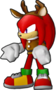 Sonic Runners Christmas Knuckles Model.png