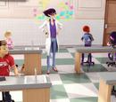 Salón de clase de la Srta. Mendeleiev