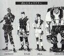 Resident Evil 2 staff