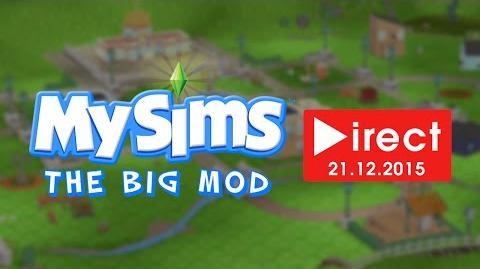 Mattrio/MySims : The Big Mod Direct - Lundi 21 Décembre à 18h