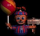 Мальчик с шариками