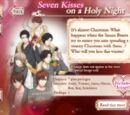 Seven Kisses on a Holy Night