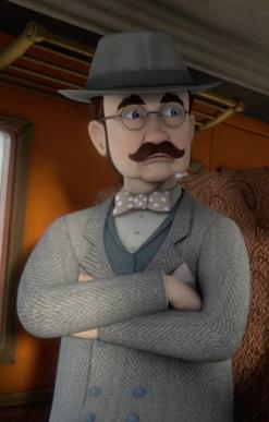 TV版第18シーズンの不機嫌な乗客