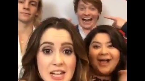 Austin & Ally Cast at Radio Disney (3)