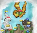 Pokémon Metal & Pokémon Wood/List of Locations Chronologically