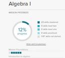 Algebra I Math Mission
