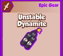 Unstable Dynamite
