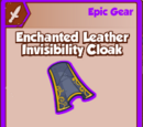Enchanted Leather Invisibility Cloak