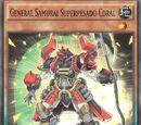General Samurai Superpesado Coral
