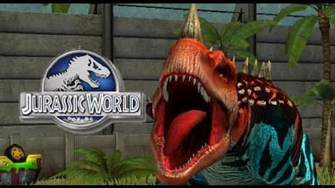 LEVEL 40 CERATOSAURUS - jurassic world the game