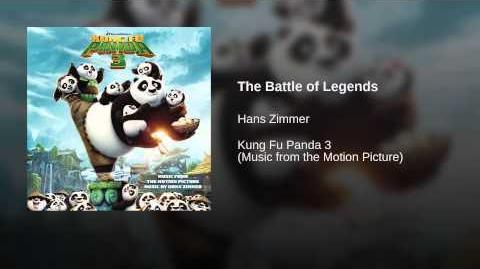 The Battle of Legends - 16 KFP3 soundtrack