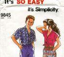 Simplicity 9845 A