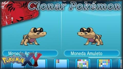 Como Clonar en Pokémon X & Y mediante intercambio - Objetos y Pokémon
