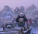 Panda villagers