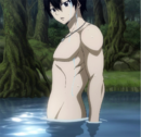 Zeref in a lake.png