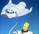 Homer, der Weltraumheld
