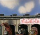 Five New Engines in the Shed