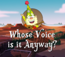 Whose Voice is it Anyway?