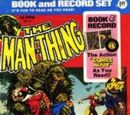 MARVEL COMICS: Man-Thing Power Records (Night Of The Living Dead)