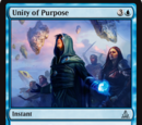 Unity of Purpose
