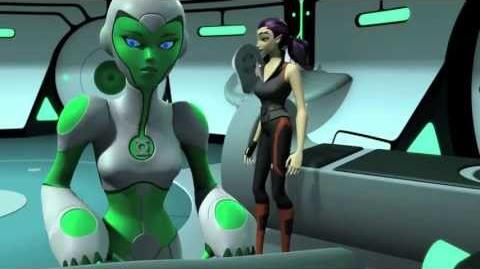 "Green Lantern Animated Series ""Lost Planet"" (Clip 2)"