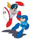 MM3 Proto and Mega Man.png
