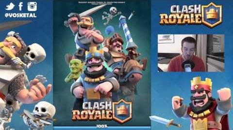 CLASH ROYALE ATTAQUES GEANTS DRAGONS - ARENE 3-0