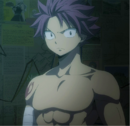 Natsu in Lucy's room.png