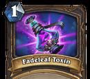 Fadeleaf Toxin