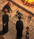 Trio, Dobby et Winky dans les cuisines.jpg