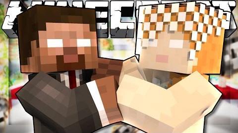 If Herobrine and Alexbrine got Married - Minecraft