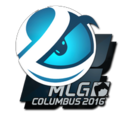 MLG Columbus 2016 Team Stickers