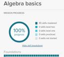 Algebra basics Math Mission
