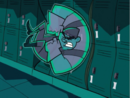 S01e05 Box Ghost dents the lockers.png